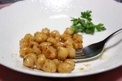 ひよこ豆のボッタルガ