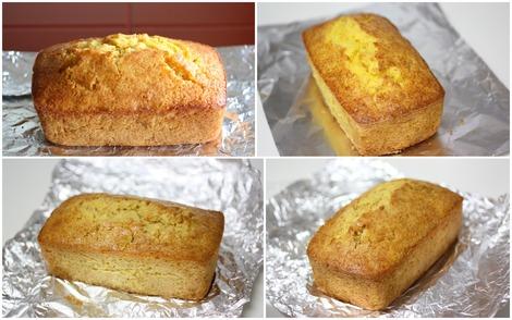 熟成のオレンジ・ケーキ