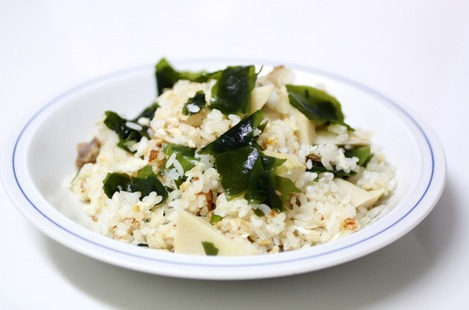 鯛と筍のご飯