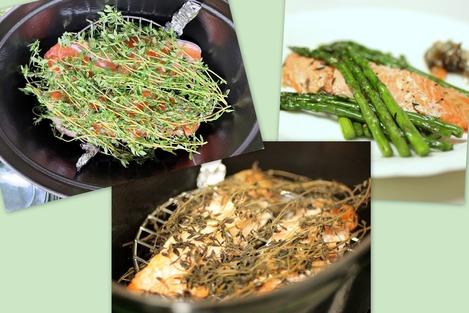 鮭のタイム焼き