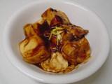 お豆腐の八丁味噌田楽