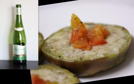 白茄子のパルミジャーノ焼き