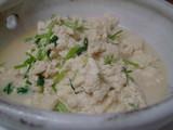 お豆腐とコリアンダー