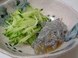 生しらすの山葵醤油