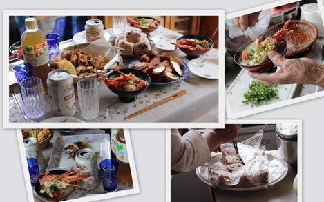 おばさん家でのお昼