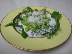 枝豆のペコリーノ・ロマーノ