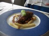 牛ロースのステーキ
