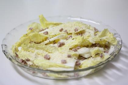 白菜のパルミジャーノ・レッジャーノ