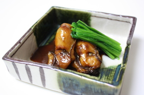 牡蠣の味噌煮