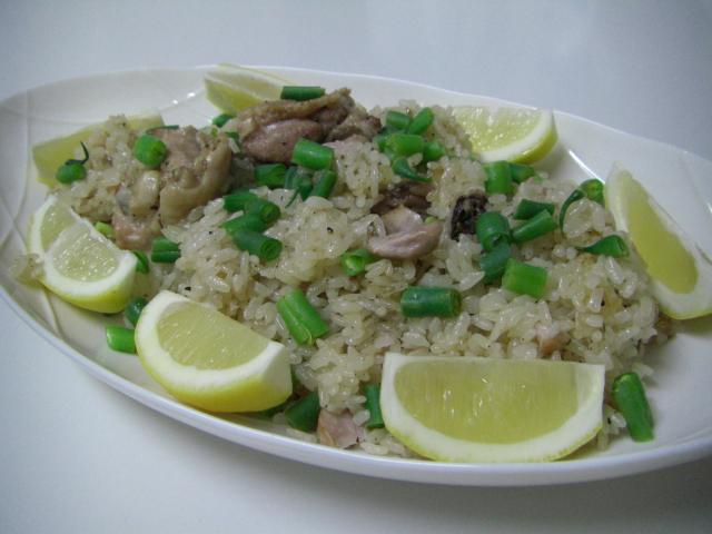 南米風鶏肉の炊き込みご飯