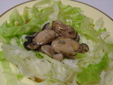 牡蠣のオイル漬け