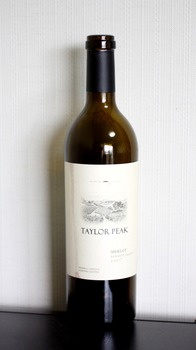 Taylor Peak, Merlot, Bennett Valley 2007