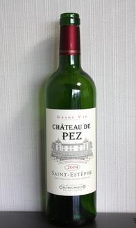 Ch. de PEZ 2004, Saint-Estephe
