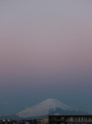 Mt.Fuji 2014.12.18 06:40
