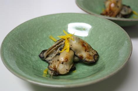 塩麹の牡蠣