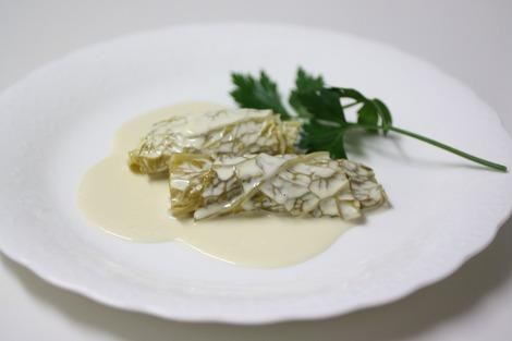 牡蠣のサボイ・キャベツ包み