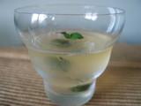 オリーヴの白ワイン・ゼリー