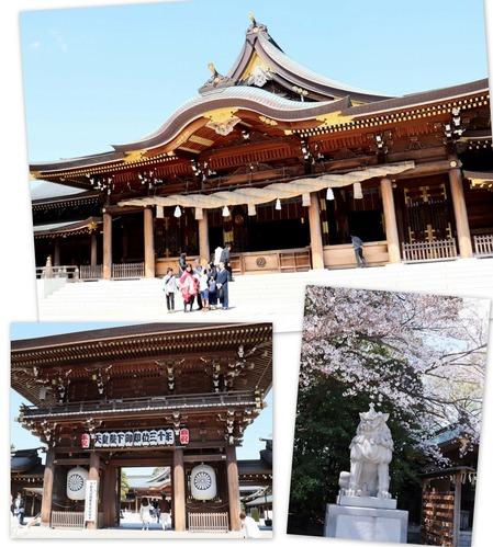 寒川神社 2019.4.3