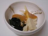 筍とわかめの酢味噌和え