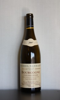 Bourgogne Cote Chalonnaise, Michel Sarrazin 2007