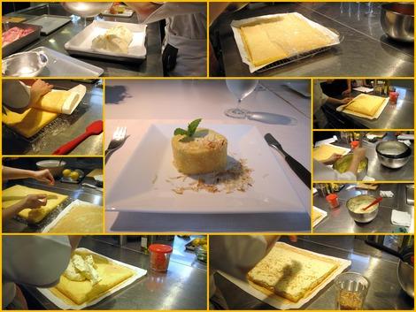 パッションフルーツとマスカルポーネのロールケーキ