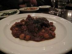 牛肉とヒヨコ豆