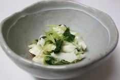 大和芋とオクラのスプラウト