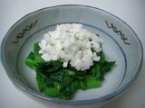 雪割り菜の花