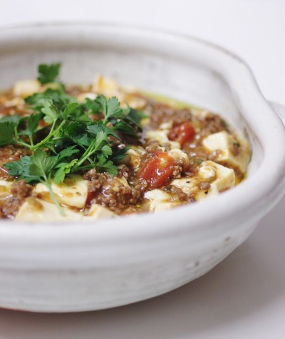 イタリアンな麻婆豆腐