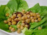 ひよこ豆とボッタルガのソテー