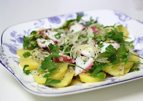 たことポテトのサラダ