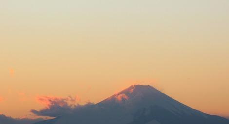 Mt.Fuji 2016.1.19 17:00