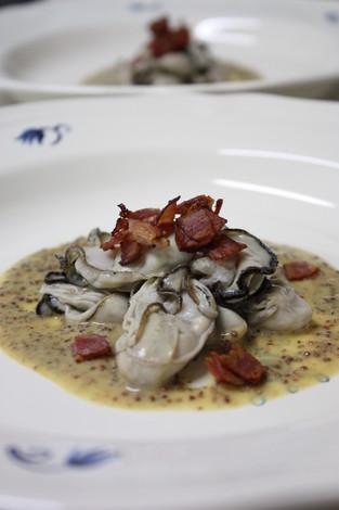 牡蠣の粒マスタード・ソース
