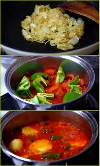 ポテトのパプリカ煮