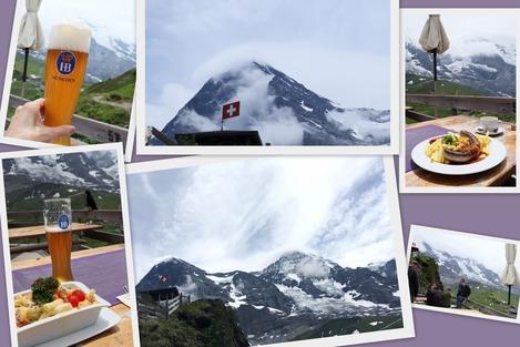 Lunch@near Kleine Scheidegg