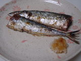 秋刀魚の塩焼き