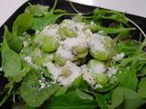 イタリア風そら豆のサラダ