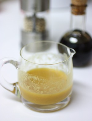 柚子とバルサミコ酢