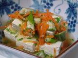 お豆腐のあんかけ