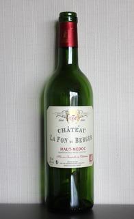 Ch.La Fon  du Berger 2000, Haut-Medoc