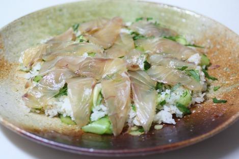 真鯛のちらし寿司