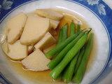 筍といんげんの煮物