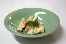 筍、酢味噌