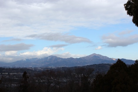 吾妻山から大山