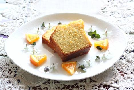 オレンジのケーキ熟成