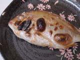 花鯛の塩焼き