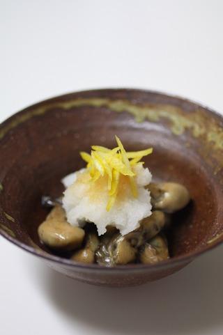 牡蠣の炒り煮