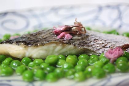 真鯛とグリーン・ピース