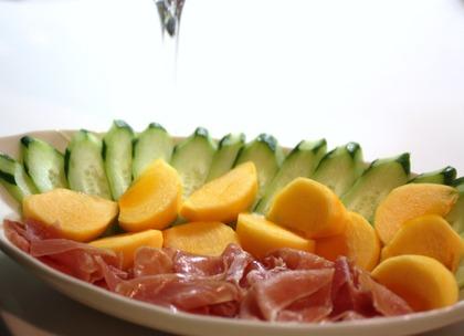 柿とハモン・セラーノ