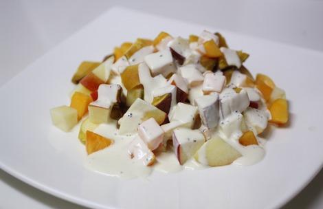 クリームチーズのソース